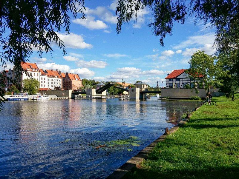 Elbląg podnoszony most