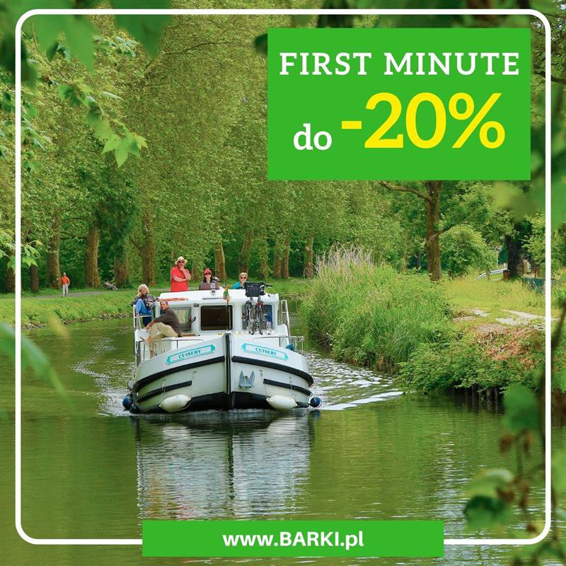 Rabaty First Minute -20%