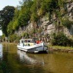 Franche-Comte Kanał Vosges wakacje na barce Fontenoy le Chateau