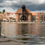 Gdańsk spichlerz widok od strony portu