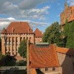 Zamek w Malborku wakacje na barce