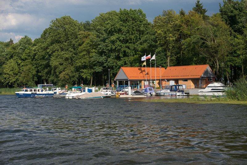 Przystań jachtowa w Malborku wakacje na barce