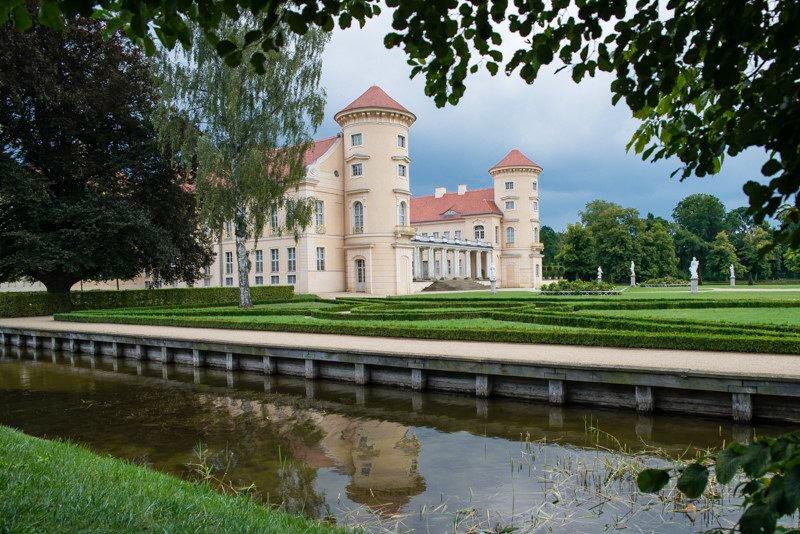 Pałac w Rheinsbergu wakacje na barce