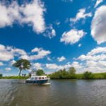Pętla Żuławska rzeka Szkarpawa wakcje barka