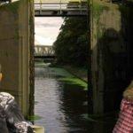 Kanał Bydgoski w śluzie Okole wakacje na barce