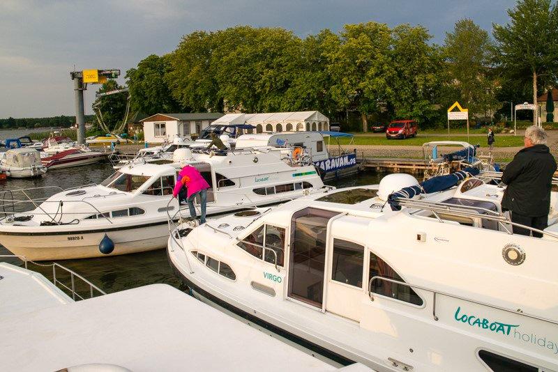 Wasserwanderclub Rheinsberg wakacje na barce
