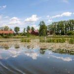 Jezioro Piniewo Kanał Elbląski wakacje na barce