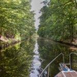 Kanał Ostódzki wakacje na barce