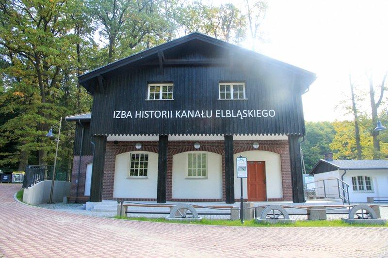 Na trasie: Muzeum Kanału Elbląskiego - Pochylnia Buczyniec