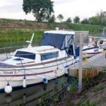 Pochylnia Całuny Kanał Elbląski wakacje na barce