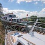 Pochylnia Jelenie Kanał Elbląski wakacje na barce
