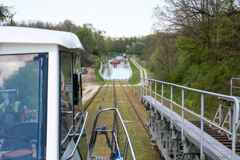 Pochylnia Oleśnica trasa: Kanał Elbląski