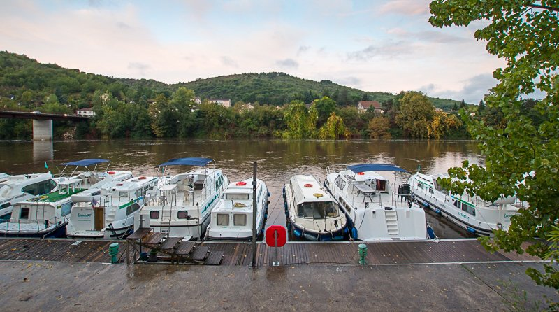 Baza Locaboat w Cahors