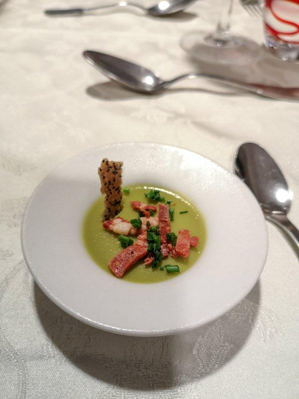 Kolacja w restauracji Fil des Doucers w Cahors