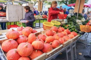 Cahors lokalny targ