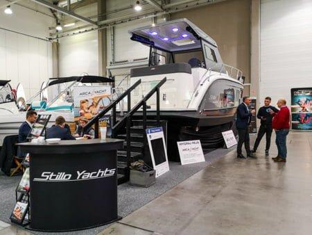 Stillo 30 na targach Boatshow 2019