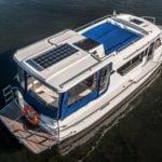 Duży pokład słoneczny na Sun Camper