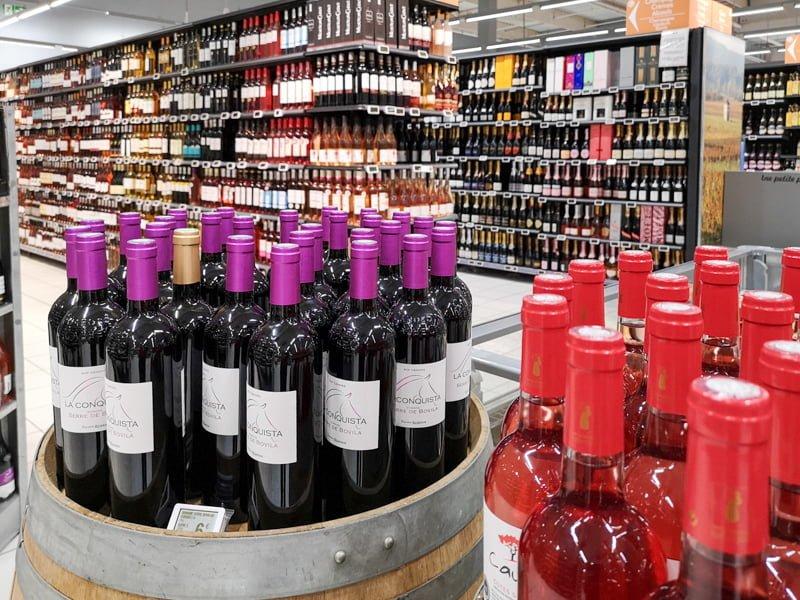 Zakupy w Cahors Leclerc