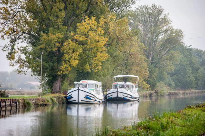 Cumujemy na kanale Garonny