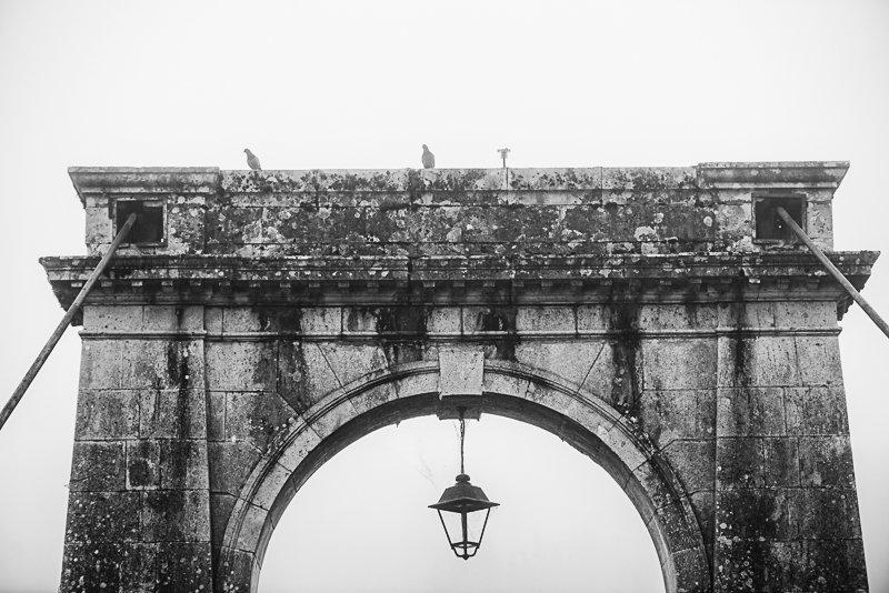 fragment mostu w Vianne