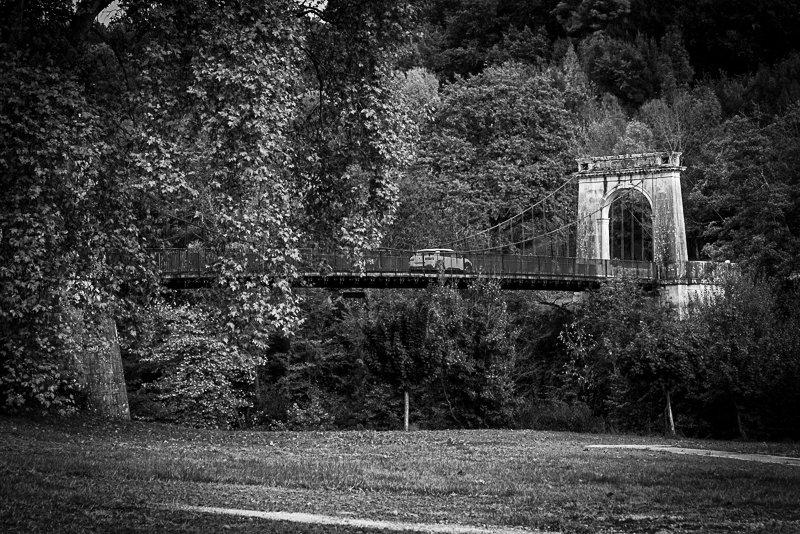 Most nad rzeką Biase w Vianne