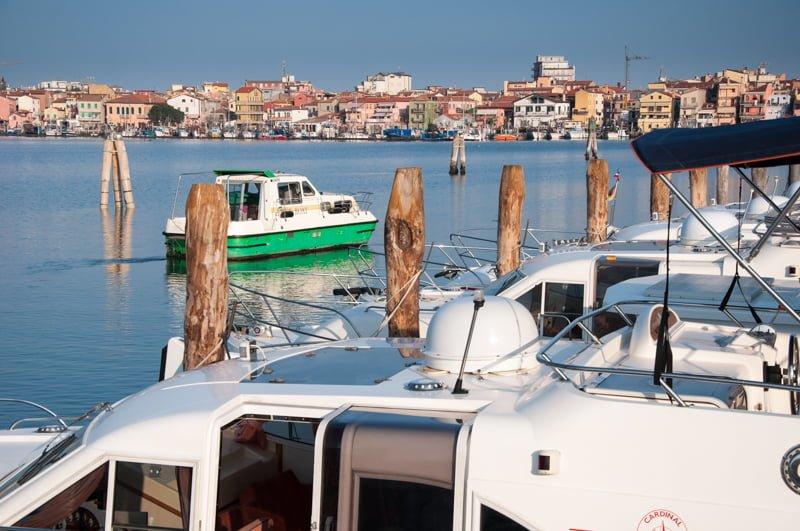 Barka w porcie w Chioggia