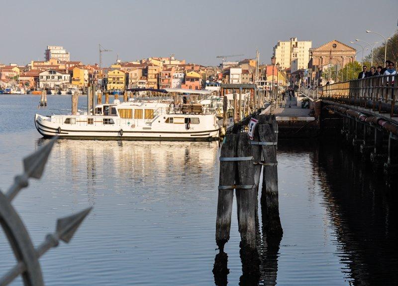 barki w bazie w Chioggia