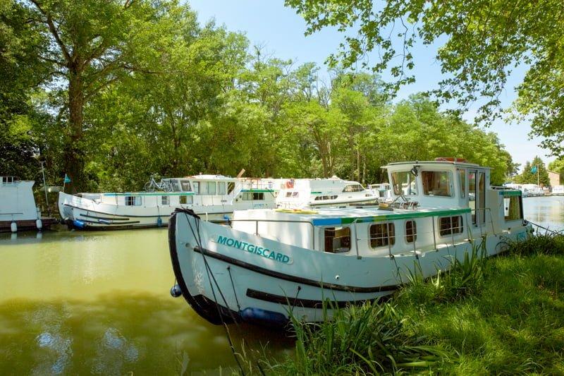 Baza Negra na Canal du Midi