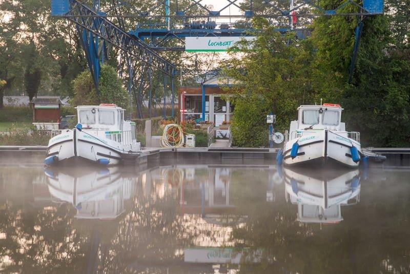Dompierre-sur-Besbr port barki Locaboat