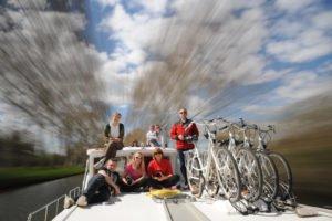 załoga na Canal du Midi