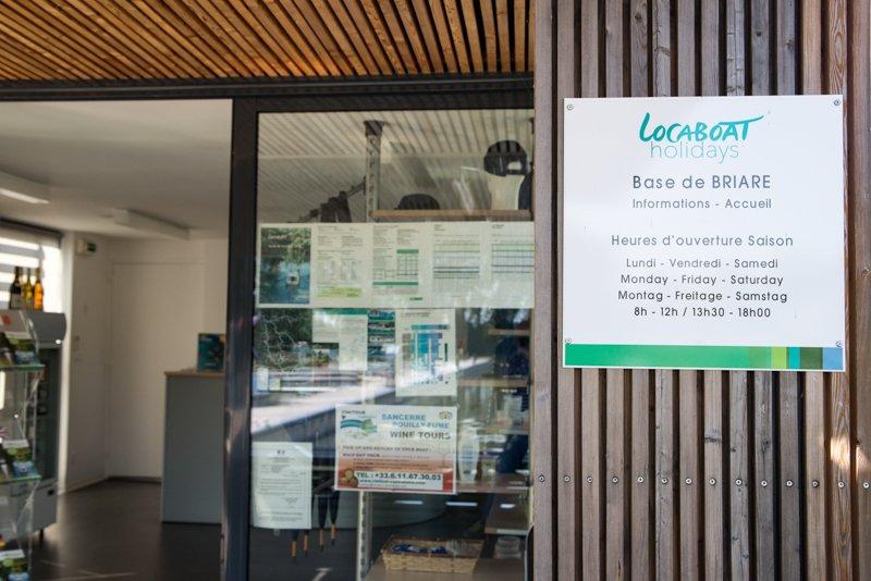 biuro Locaboat Briare
