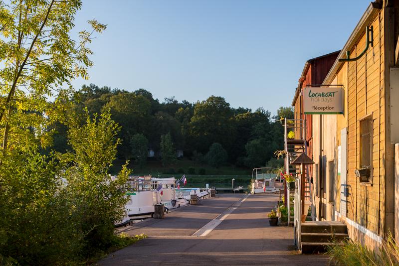 Baza Locaboat w Scey-sur-Saone