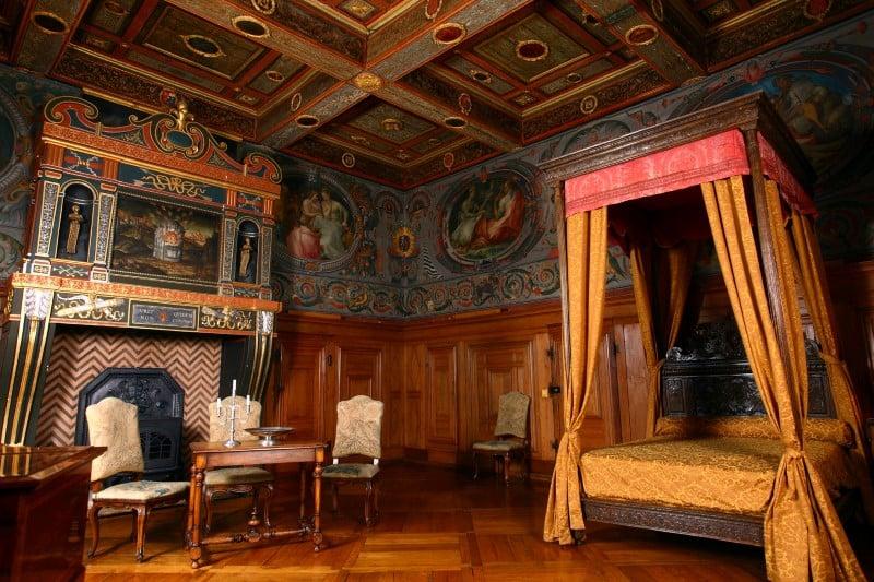Zamek Ancy le Franc wnętrza Pokój Sztuki