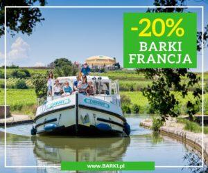 Promocja barki Francja -20%